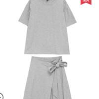 HSTYLE 韩都衣舍 OR8710 休闲运动套装裙