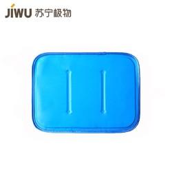 苏宁极物 日式纯色多功能凝胶冰垫坐垫