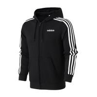 adidas男服夹克外套连帽开衫休闲运动服DQ3102 L DQ3102黑色