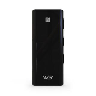 HiBy 海贝 W3 便携无线蓝牙耳放HiFi音频接收器 带麦声卡 至臻黑