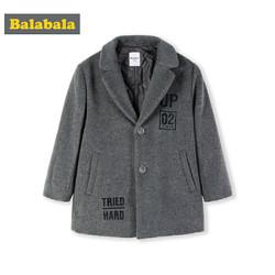 巴拉巴拉 儿童呢子大衣