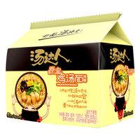 统一 方便面 汤达人 原盅鸡汤风味 方便面108g*5 五连包