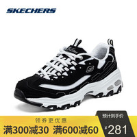 胜道运动旗舰店SKECHERS斯凯奇LIFESTYLE系列熊猫鞋女休闲鞋11422/BKW 11422/BKW 42