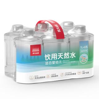 NONGFU SPRING  农夫山泉 饮用天然水 (适合婴幼儿) 1L*6瓶