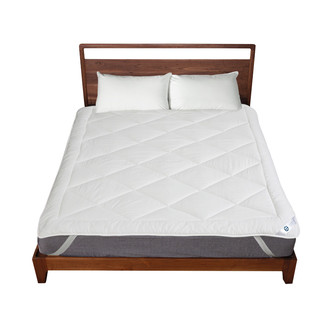 CRIA 可瑞乐 M0009051223 保暖床垫加厚羊绒垫子防滑羊毛褥子垫被 白色