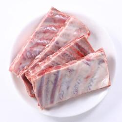 帕尔司 西班牙进口猪肋排 1kg *4件