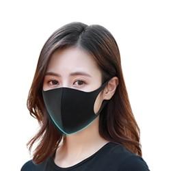 海烯克 防尘透气可清洗口罩 3只装  *2件