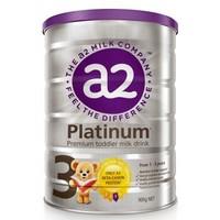 a2 白金版 幼儿配方奶粉 3段(1-3岁) 900g/罐