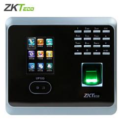 ZKTeco 中控智慧  UF100PLUS 指纹人脸面部识别考勤机