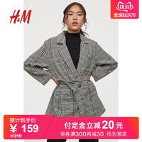 HM 奇奇蒂蒂系列DIVIDED女装2019新款西装外套女0780749
