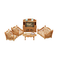 Sylvanian Families 森贝儿家族  5339 舒适客厅套女孩儿童玩具