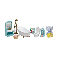 Sylvanian Families 森贝儿家族  5380 精美浴室套儿童亲子益智玩具