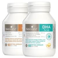 BIO ISLAND 婴幼儿液体乳钙+DHA海藻油