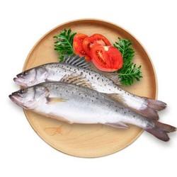 领鲜派(Fresh Pie)三去海鲈鱼 400~500g 海鲜水产 去鳞去鳃去内脏 袋装