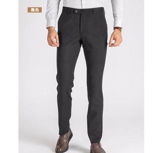 相思鸟 HNK022S 男士休闲西装长裤