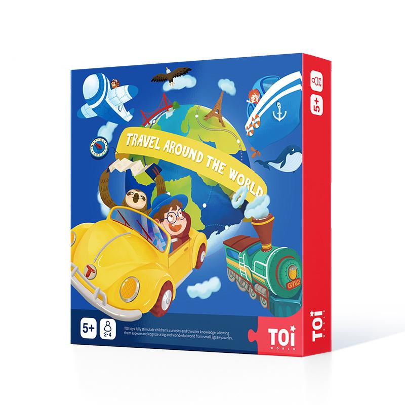 TOI 环游世界探险家桌面游戏儿童益智类玩具