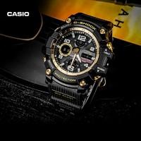 CASIO 卡西欧 G-SHOCK GWG-100GB-1A 6局电波 男款运动腕表