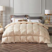 罗莱家纺LUOLAI羽绒被床上用品提花尊贵型波兰白鹅绒冬被子被芯 尊贵型波兰白鹅绒冬被 200*230cm