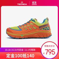 TECNICA泰尼卡山地越野跑距离越野跑鞋专业徒步户外登山鞋 男款:006橙色-柠檬黄 42(UK8)