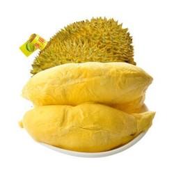 优仙果 泰国进口金枕榴莲 非猫山王新鲜水果现货 1个装(共4-5斤)实惠