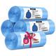 白菜党:锐王 蓝色平口垃圾袋 45*50cm 120只 3.9元包邮(需用券)