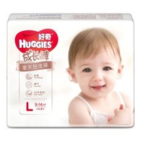 Huggies 好奇心钻装成长裤 L4片+S4片+得力 七巧板