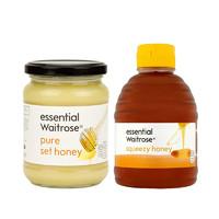 纯清澈蜂蜜 纯结晶蜂蜜 原生态养胃 百选精酿滴滴晶纯
