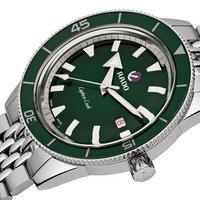 雷达表(RADO)瑞士手表 传承系列 库克船长动力储存男士钢带机械腕表限量礼盒装 R32505313