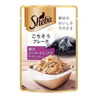 Sheba 希宝 猫粮软包罐头 三文鱼海鲜盛宴 成猫 35g