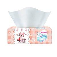 心相印抽纸 婴儿专用纸巾卫生纸M码三层面巾纸15包整箱 *2件
