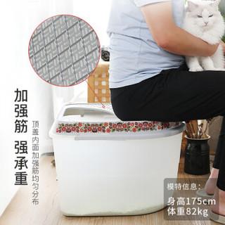 MAKAR 美卡 顶入式猫砂盆全封闭式特大号20斤自由活动