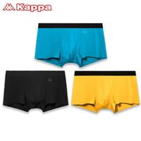 Kappa 卡帕 KP9K10 男士平角冰丝感内裤 3条装+袜子1双装