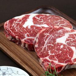 春禾秋牧 谷饲原切牛排 眼肉牛排180g含料包 *3件