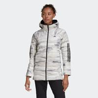 adidas W REV AOP 11/11女装冬季户外运动羽绒服FR6637