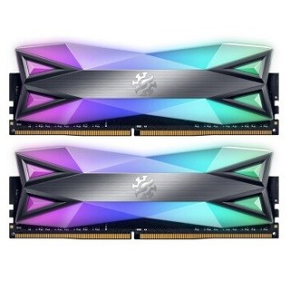 ADATA 威刚 XPG 龙耀 D60G DDR4 3200MHz 台式机内存 16GB(8GBx2)