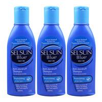 Selsun Blue 特效去屑止痒洗发水 紫/蓝盖 200ml*3