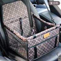 汽车用防脏宠物后车厢车垫专用坐垫后排车载垫用品狗狗垫子安全带