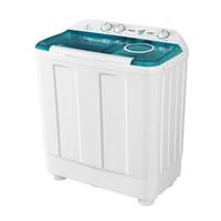 Haier 海尔 XPB120-899S 半自动双缸洗衣机 (白色、12KG)