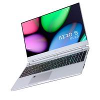 GIGABYTE 技嘉 RP75 NewAero15 15.6英寸游戏本(i7-9750H、8GB、512GB、GTX1650、4K)