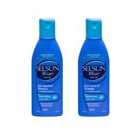 Selsun Blue 特效去屑止痒洗发水 紫/蓝盖 200ml *2瓶