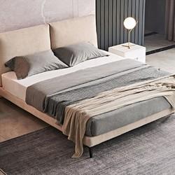 A家家具 DA0178 现代软靠双人床 1.5/1.8m