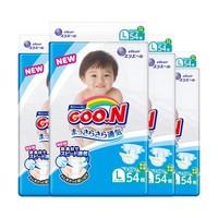 GOO.N 大王 维E系列 婴儿纸尿裤 L54片*4包