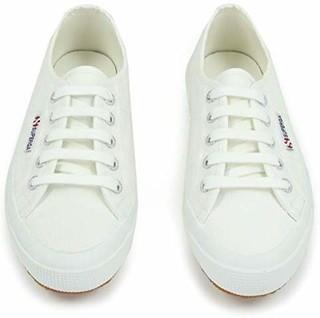 SUPERGA 2750系列 S000010 女士休闲帆布鞋 白色