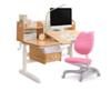 Totguard 护童 实木系列 学习桌1.2m+单背椅620
