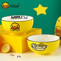 B.Duck 小黄鸭陶瓷碗