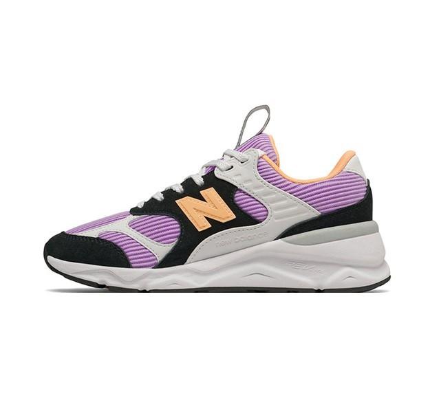 new balance X90系列 女士休闲运动鞋 WSX90TLS 紫罗兰/黑 36