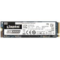 Kingston 金士顿 KC2000 固态硬盘 1000GB M.2接口(NVMe协议) SKC2000M8/1000G