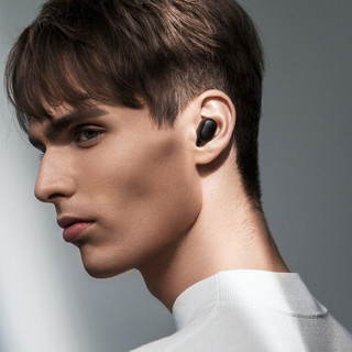 Redmi 红米 AirDots 入耳式真无线动圈蓝牙降噪耳机 黑色