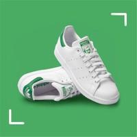 绿尾到手299:Adidas阿迪达斯 三叶草中性鞋stan smith史密斯绿尾小白鞋休闲板鞋运动鞋 M20324 M20324 42
