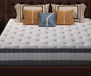 芝华仕爱蒙床垫 乳胶床垫独立弹簧软硬两用席梦思床垫1.8m床D026 1.8*2米年后发货